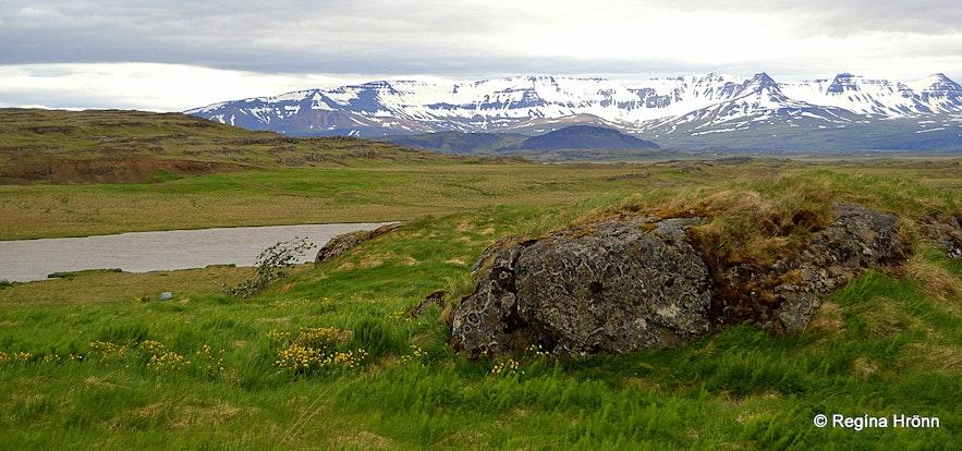 Stafholt in Borgarfjörður West Iceland