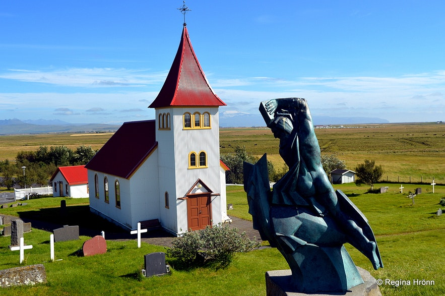 Oddi in South-Iceland