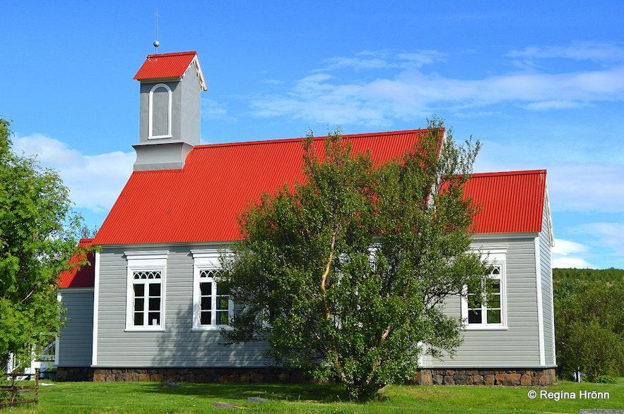 Reykholtskirkja church - the older one