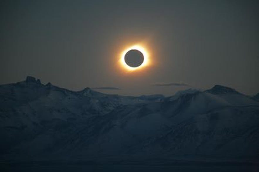 Solar eclipse in Iceland on 20th of March 2015!