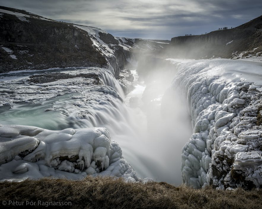 Gullfoss on the Golden Circle in winter