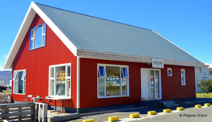 The friendly Hotel West in Patreksfjörður Village in the Westfjords of Iceland