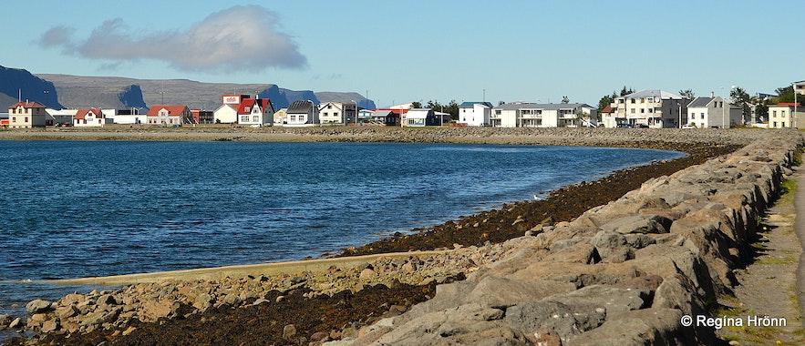 Patreksfjörður village Westfjords