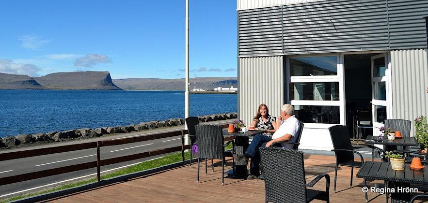Hotel West in Patreksfjörður Westfjords of Iceland