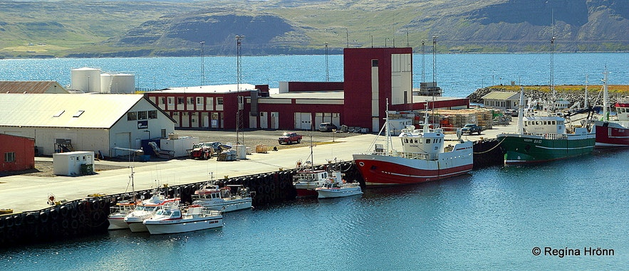 Patreksfjörður village
