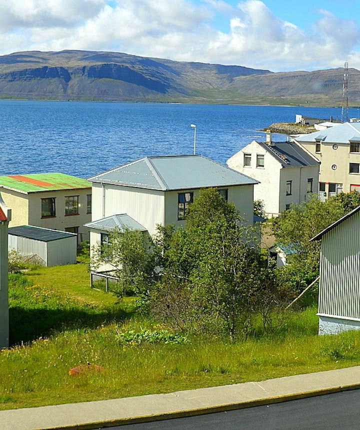 Patreksfjörður fjord in the Westfjords