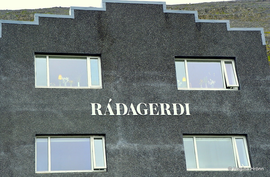Ráðagerði hotel in Patreksfjörður Westfjors