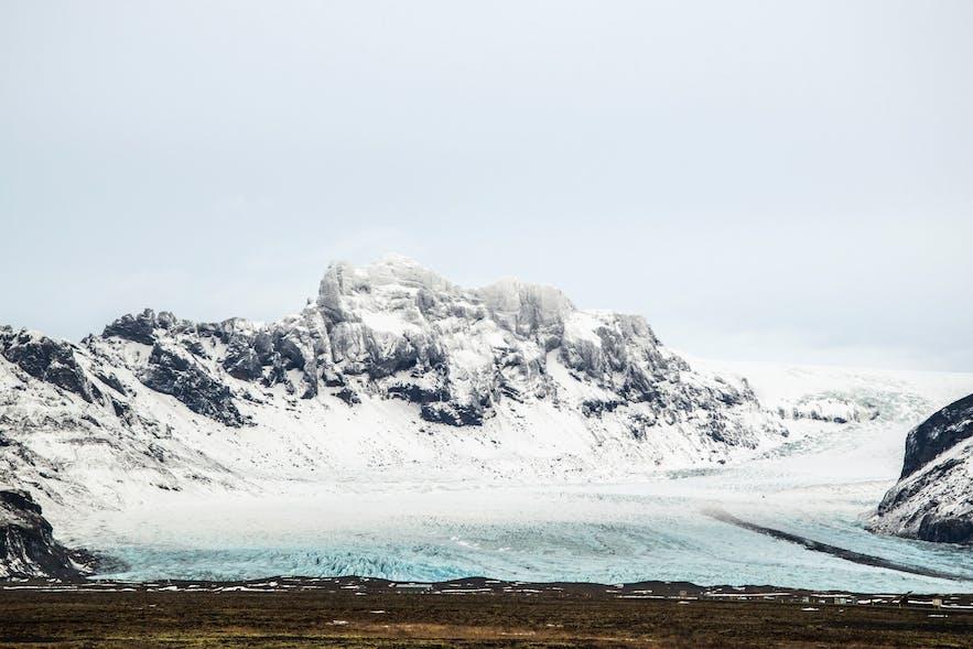 冰島斯維納冰川,Svínafellsjökull