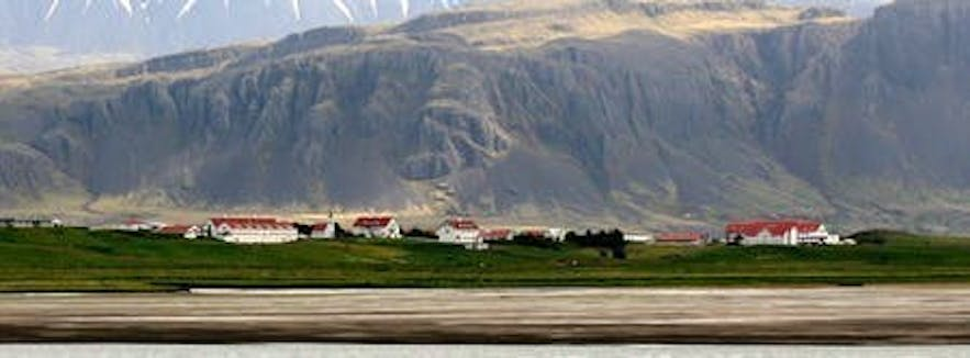 The Agricultural University of Iceland is just one example of an Icelandic education institute surrounded by gorgeous nature.