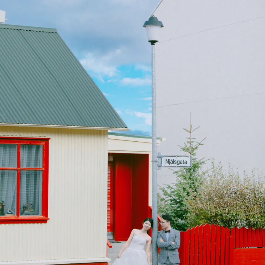 冰島首都雷克雅維克自助婚紗攝影