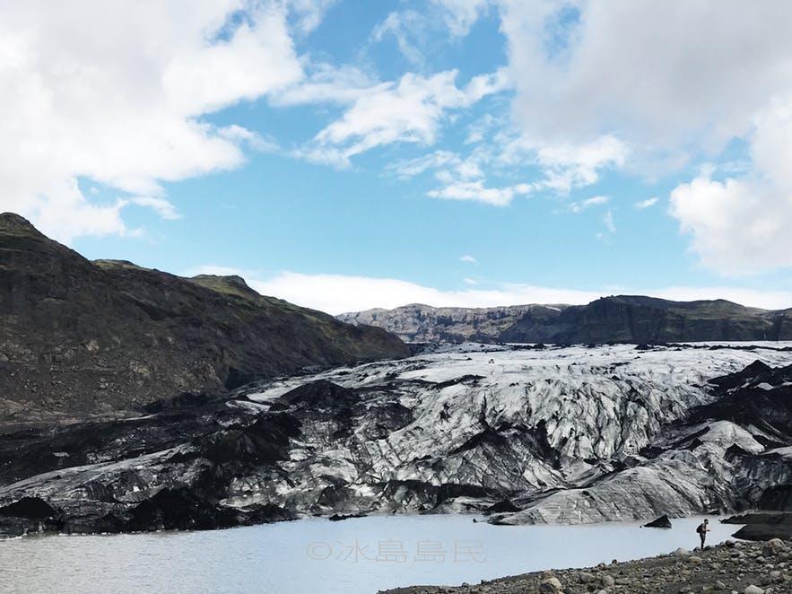 冰島索爾黑馬冰川入口