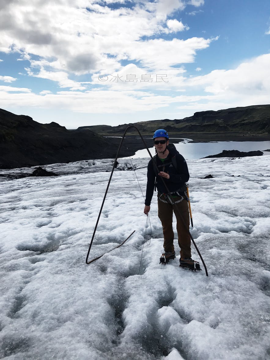 索爾黑馬冰川測試儀器