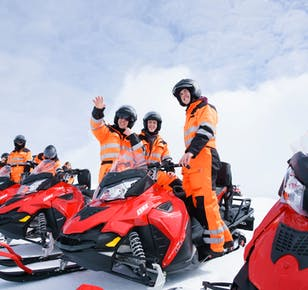 Golden Circle, Super Truck & Snowmobiling Day Tour