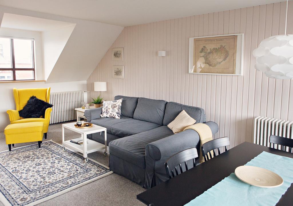 Centerspot 1-Bedroom Apartment in Reykjavik