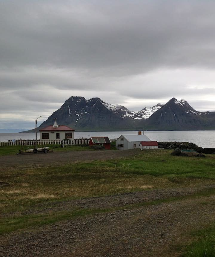 Day two: sublime pool, dramatic Djúpavík and a factory that defies all logic