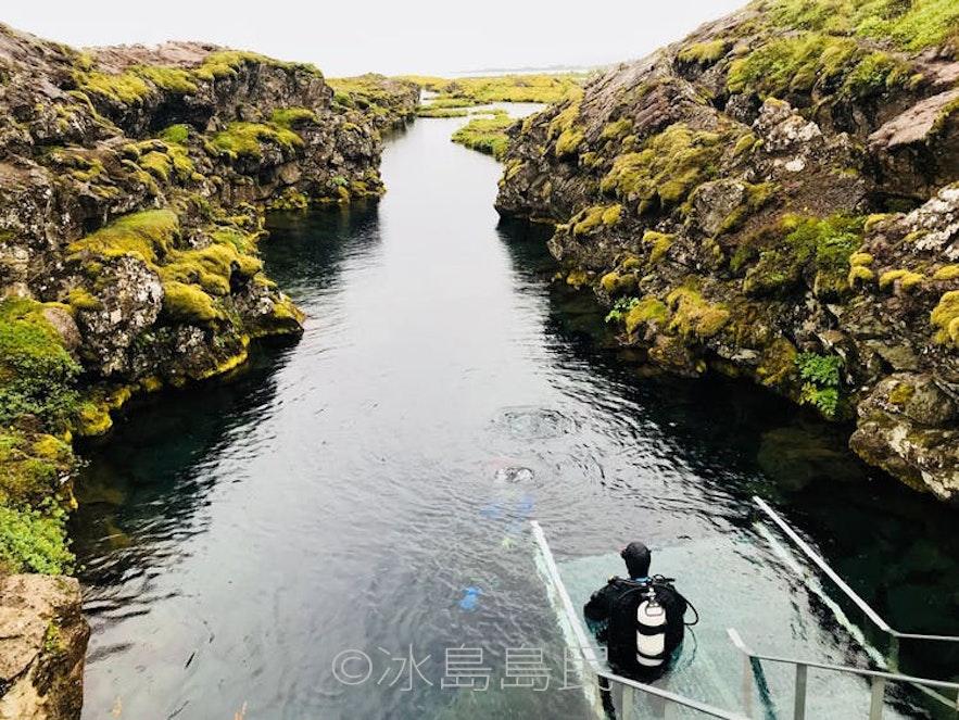 冰島浮潛潛水下水地點