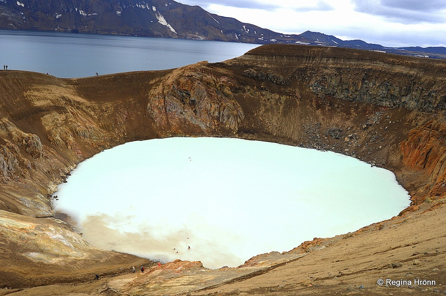 Askja - Víti crater in the highland of Iceland