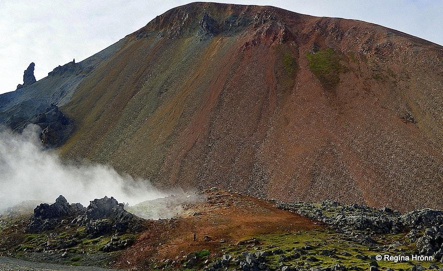 Landmannalaugar in the highland of Iceland