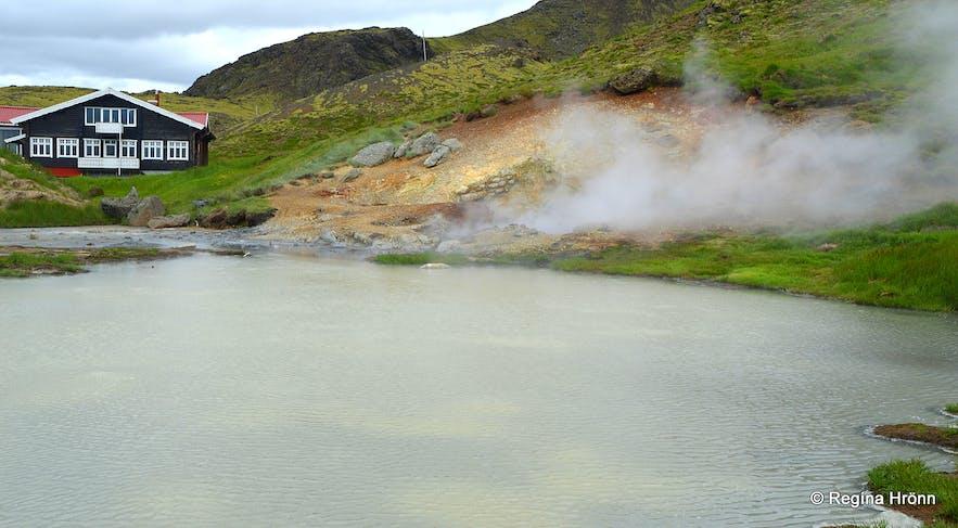 Hveradalir geothermal area South-Iceland