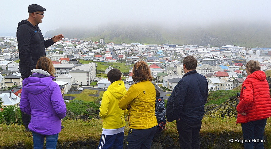 A guided tour of the Westman islands