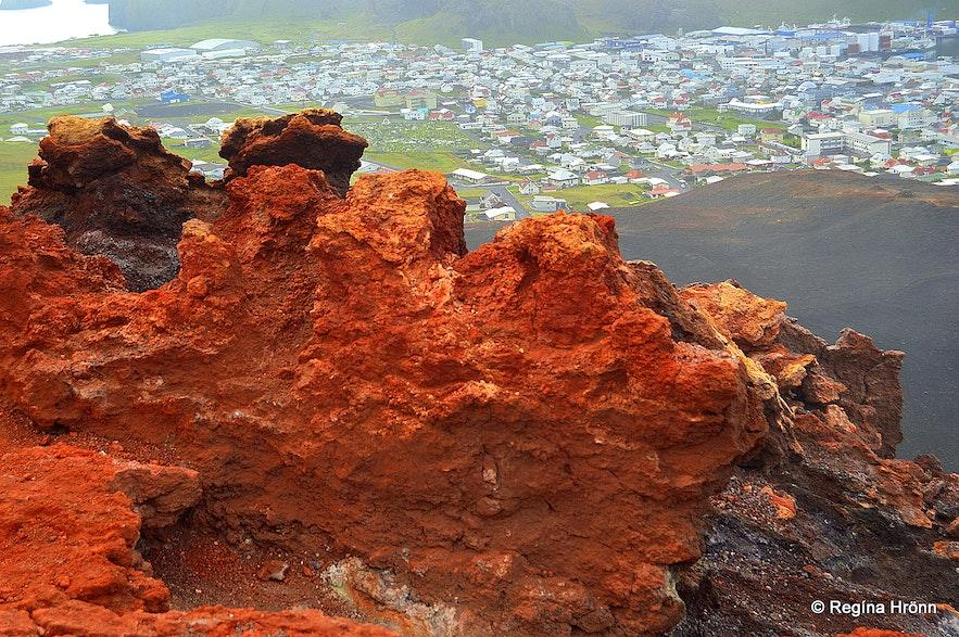 Eldfell volcano - Westman islands Iceland