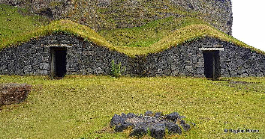 Herjólfsbærinn - Herjólfur's farmstead in the Westman islands