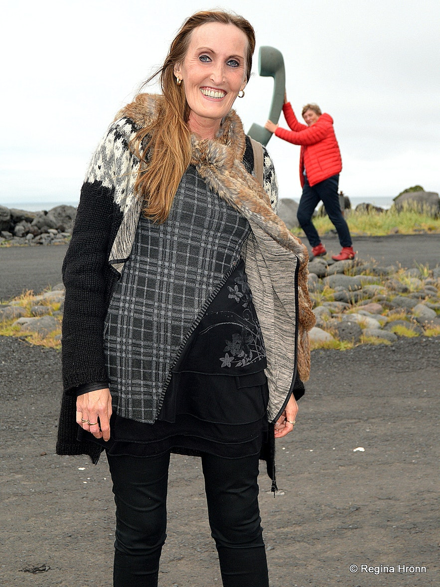 Westman Islands South-Iceland - the big phone receiver