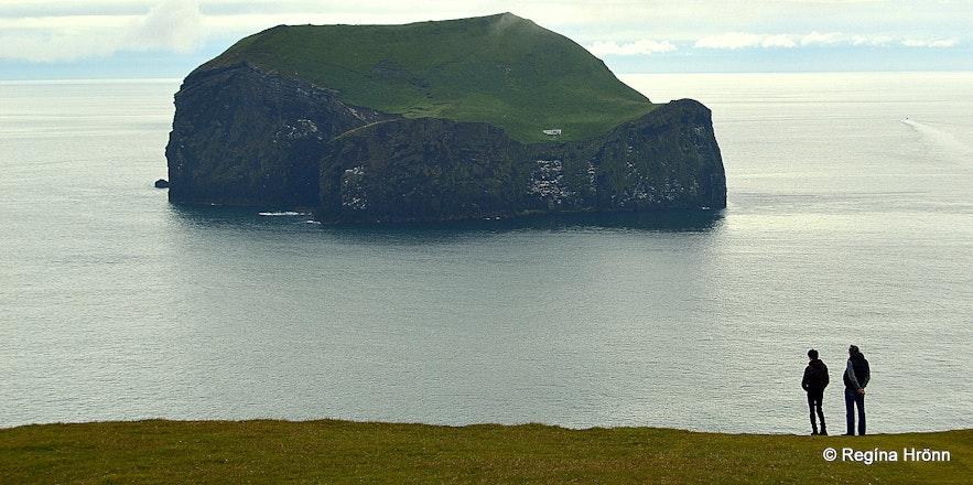 Westman Islands South-Iceland - the view from Stórhöfði