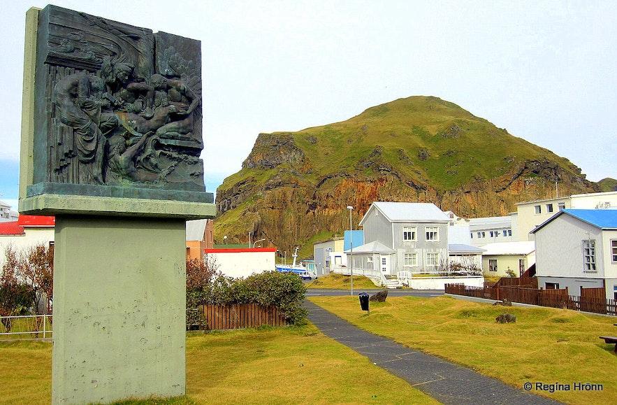 Westman Islands South-Iceland - artwork by Einar Jónsson