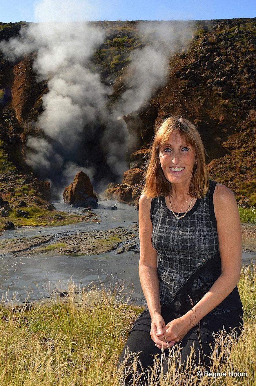Regína at Nesjavellir geothermal area SW-Iceland