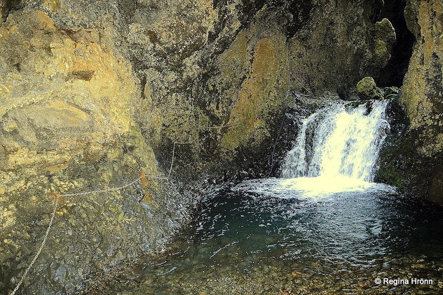 Nauthúsagil Ravine in South-Iceland