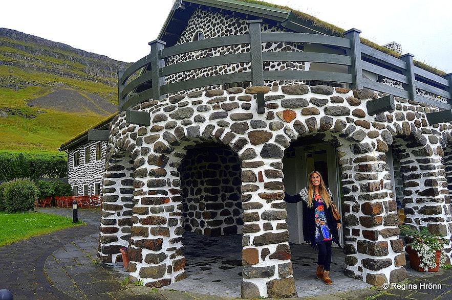 Regína at Skriðuklaustur East-Iceland