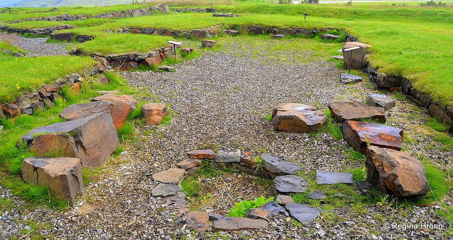Archaeological excavations of the old monastery at Skriðuklaustur
