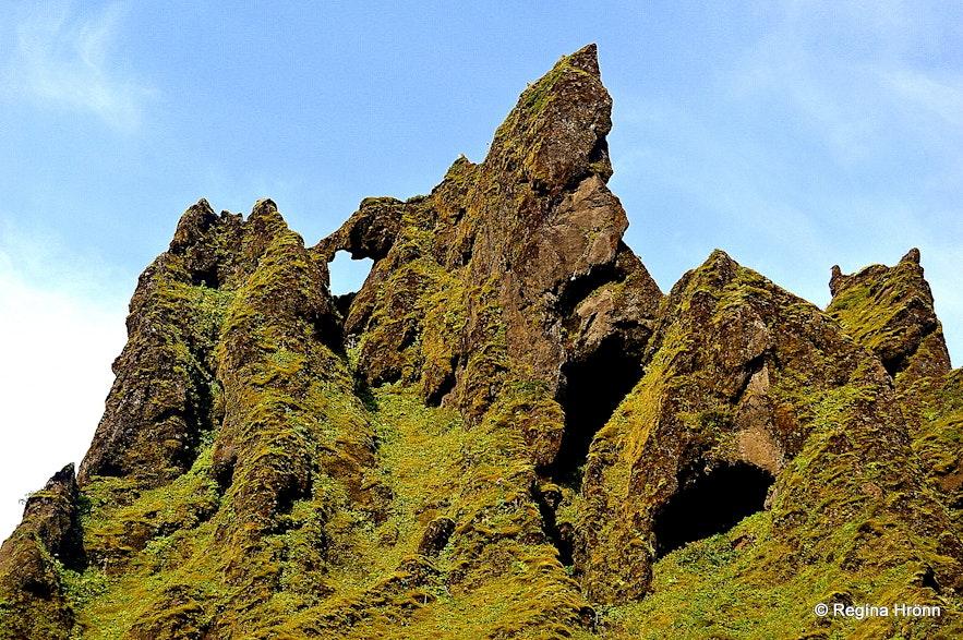 Þakgil canyon South-Iceland