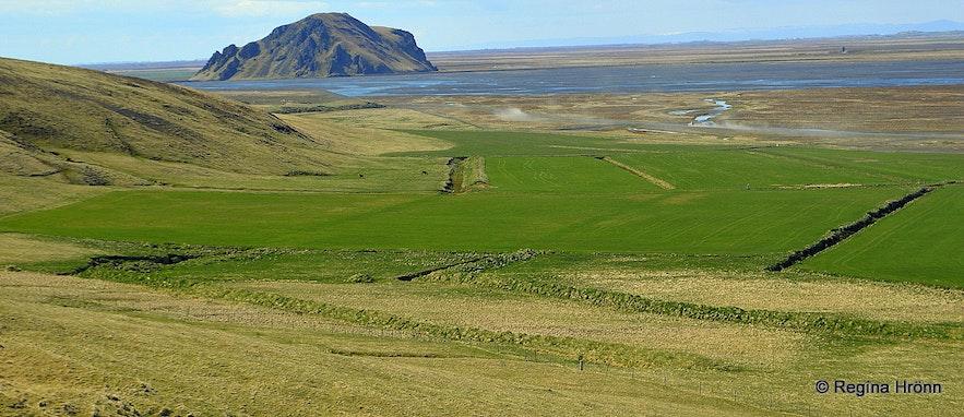 By Nauthúsagil - Stóra Dímon in the distance