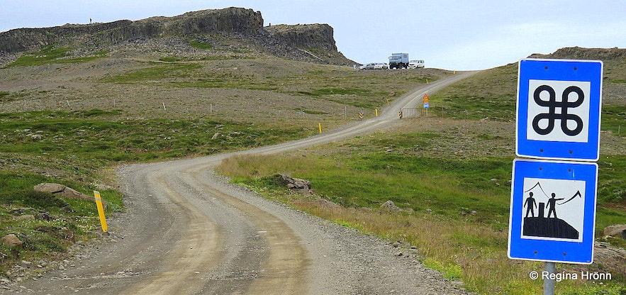 Borgarvirki North-Iceland