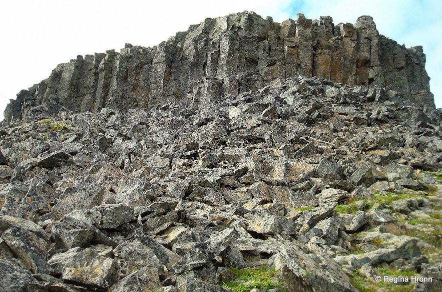 Borgarvirki North-West Iceland