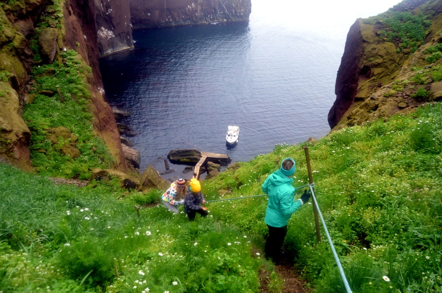 Drangey Bird Cliff in North-Iceland and the Viking Grettir the Strong