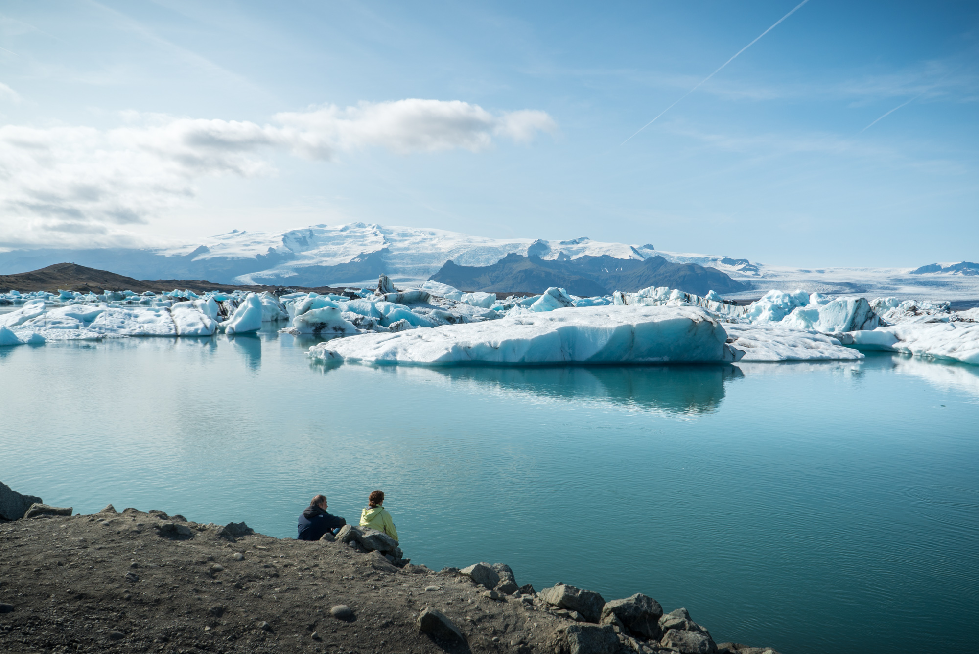 Jokulsarlon Ice Glacier Lagoon