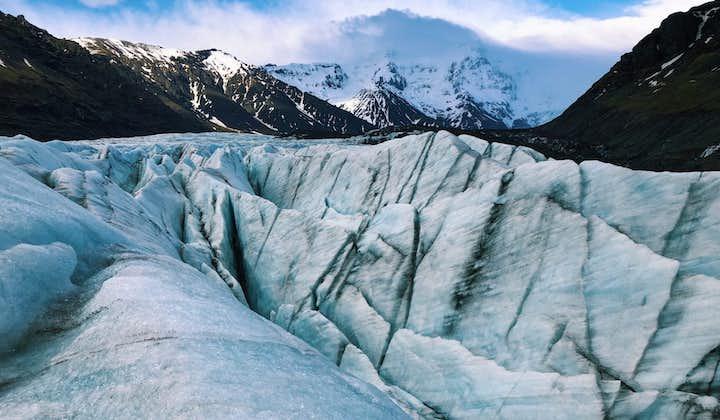 斯卡夫塔山冰川徒步旅行团-来冰岛星际穿越 自驾到集合地,深度中等级别