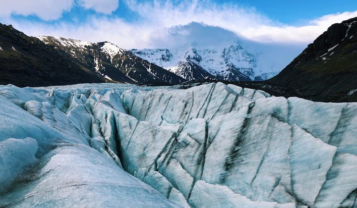 Doskonała 3-godzinna wycieczka piesza po lodowcu Vatnajokull z transferem z Skaftafell