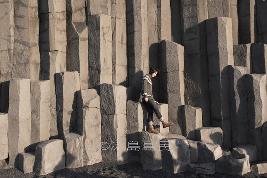冰島Reynisfjara 黑沙灘玄武岩