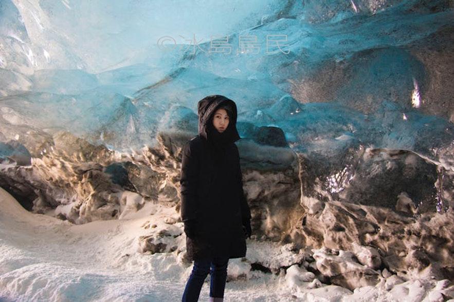 冰島冰川藍冰洞