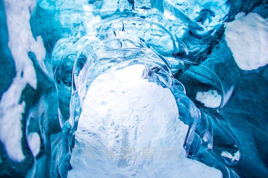 冰島藍冰隧道