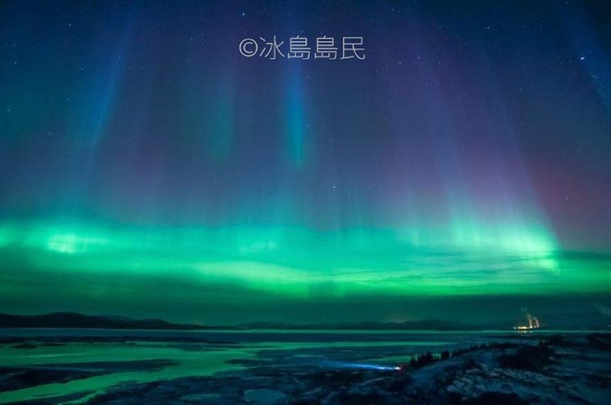 冰島極光爆發
