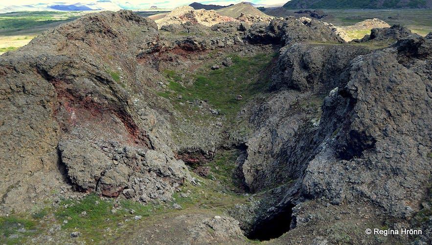 Lúdentaborgir Mývatn