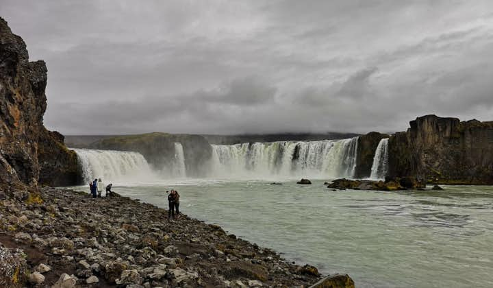 Godafoss waterfall in Northern Iceland