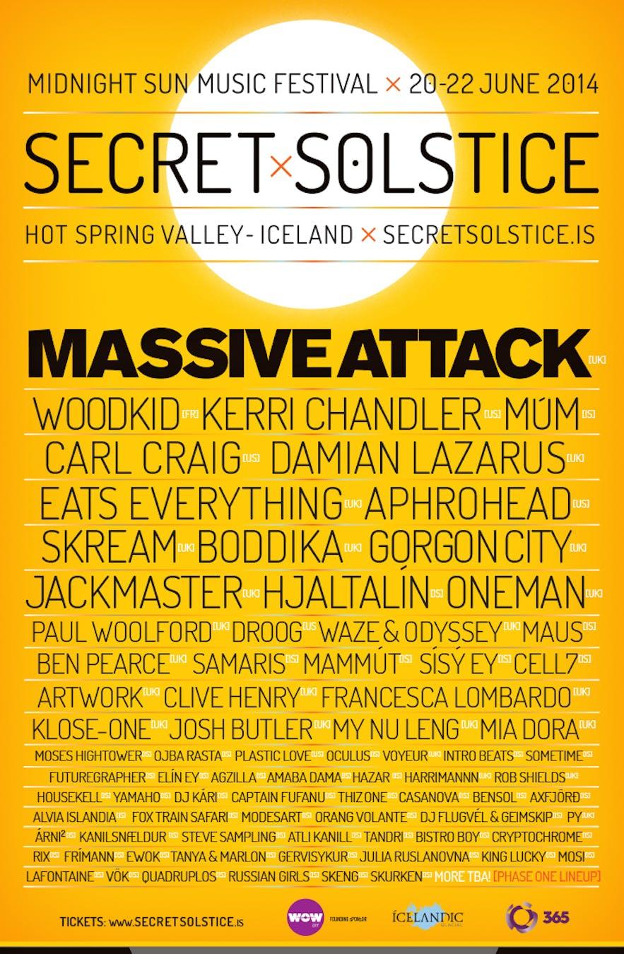 音楽祭 - Secret Solstice Festival