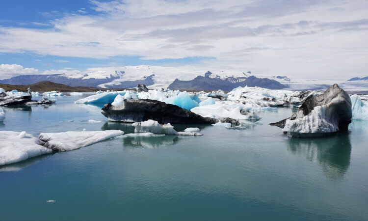 Jokulsarlon Glacier Lagoon in South Iceland