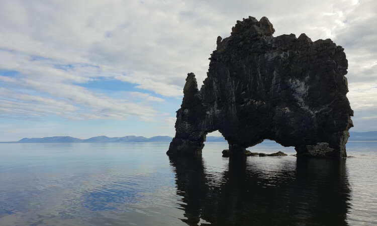Hvitserkur seastack in North Iceland